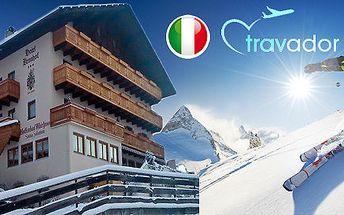 Lyžování i relax v Jižním Tyrolsku pro DVA
