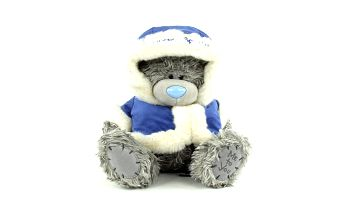Me to You Medvídek 22cm modrý kabátek