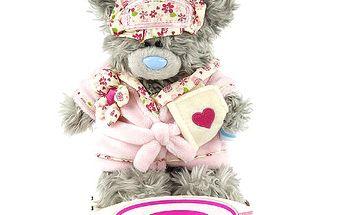 Nejoblíbenější plyšový medvídek Me to You v růžovém župánku