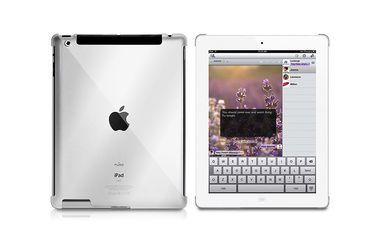 Elegantní, ochranný kryt pro iPad 2/ 3. a 4. generace z ultra lehkého a transparentního materiálu - Crystal Cover průhledný