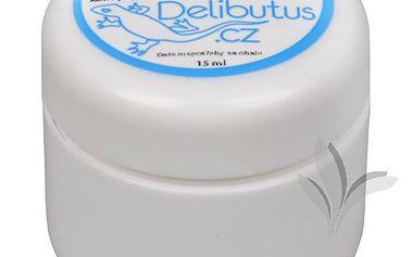Delibutus Jojobový balzám na rty s konopím 15 ml