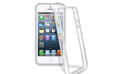 Ochranný rám na iPhone 5 - Bumper, Transparent