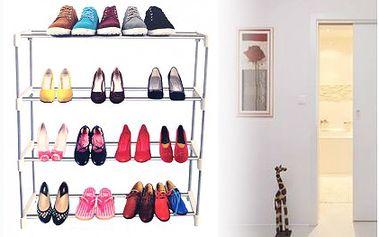 Lehký a přenosný botník k uložení bot. S tímto botníkem budete mít boty pro jednou uklizeny.