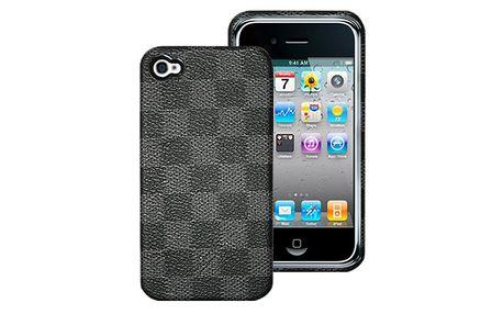 Ochranný zadní kryt na iPhone 4/4S DAMA GREY italské značky PURO