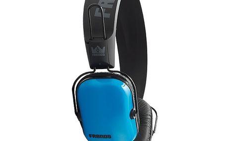 Designová modro-černá sluchátka Frends