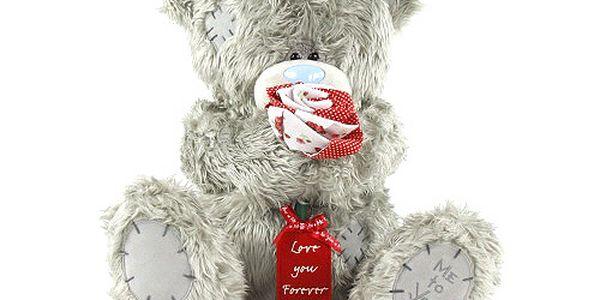 Love you Forever - nejoblíbenější plyšový medvídek Me to You s růžičkou.