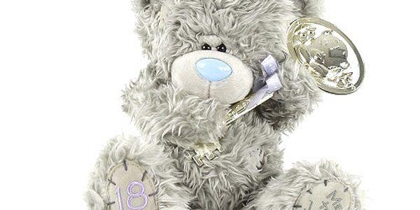 Osmnáctiny - nejoblíbenější plyšový medvídek Me to You se stříbrným klíčem