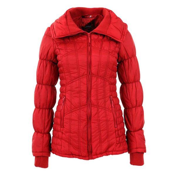 Dámská bunda Sublevel červená