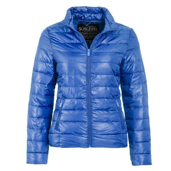 Dámská bunda Sublevel modrá