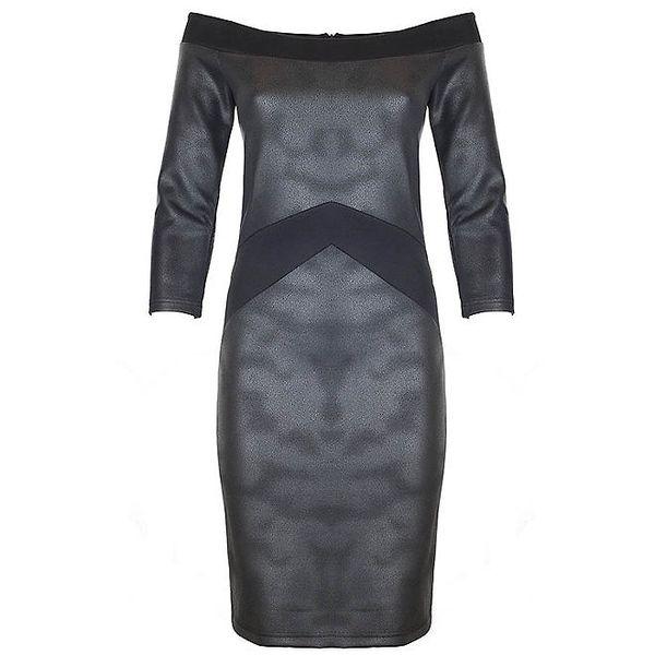 Dámské metalické šaty Hype