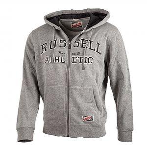 Pánská mikina s kapucí russell athletic zip through hoody s
