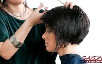 STŘIH, mytí, foukaná, styling, poradenství, regenerace a masáž hlavy v salonu Petra Benešová.