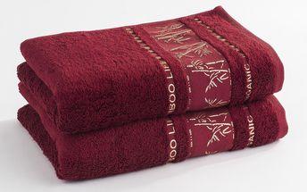 Ariatex ručník Bamboo life, 50 x 90 cm, sada 2 ks, 2 ks 50 x 90