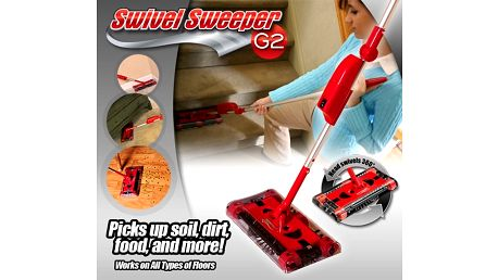 Bezdrôtový vysávač - Swivel Sweeper G2