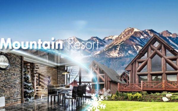 PŘEPYCHOVÁ 3 nebo 4DENNÍ dovolená v Tatrách pro 4 dospělé a 2 děti v LUXUSNÍ CHATĚ Mountain Resort již od 7790 Kč! SAUNA v ceně! Chcete se cítit jako opravdová celebrita? S Hyperslevami si tento KOMFORT můžete dopřát!
