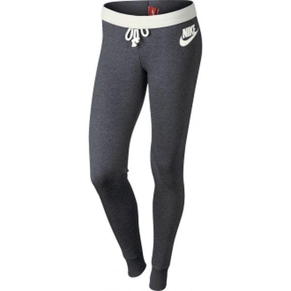 Sportovní kalhoty - nike rally pant-tight šedá xl
