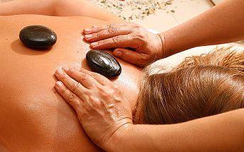 Fantastických 250 Kč za 40 minutovou masáž lávovými kameny!