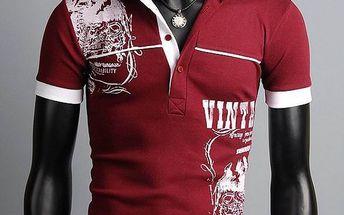 Pánské polo triko s potiskem - 3 barvy, 4 velikosti a poštovné ZDARMA! - 34106010