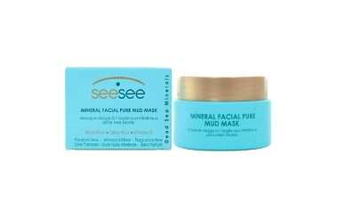 SeeSee Mineral Facial Pure Mud Mask 50ml