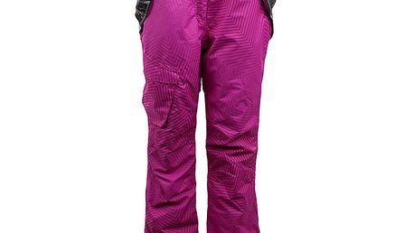 Dámské růžové lyžařské kalhoty Authority