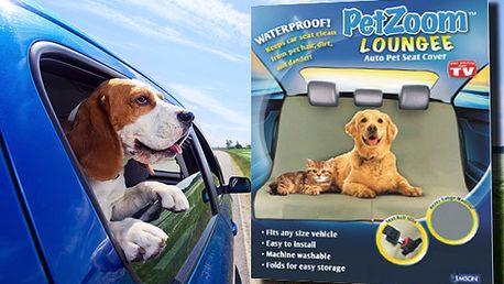 Praktická deka do auta pro psy i kočky