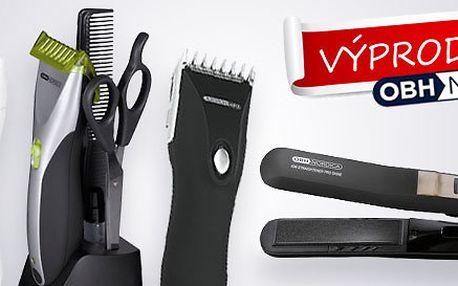 Zastřihovač vlasů a žehlička na vlasy OBH Nordica