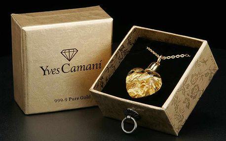 Luxusní šperk Yves Camani s řetízkem
