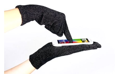 Bavlnené rukavice na dotykový displej, s ktorými ovládnete svet techniky s rukami v teplúčku len za 4,99€
