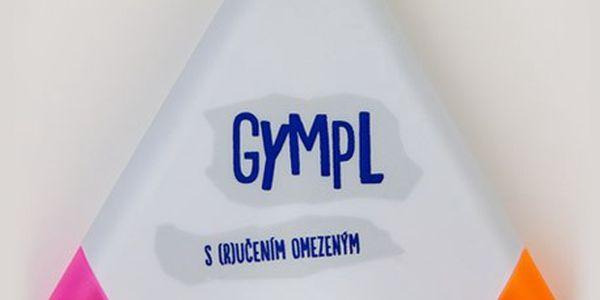Zvýrazňovač Gympl se 3 barvami: žlutá, fialová a oranžová