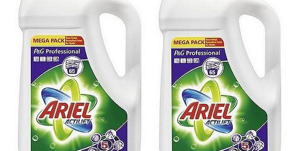 2 x Ariel 4,75 l pro bílé oblečení