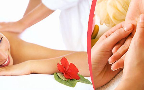 Výběr ze tří druhů masáží s masáží rukou a zábalem a masáží hlavy