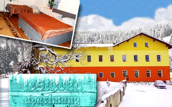 3 dny PRO 2 v Jizerkách za 1280 Kč i s polopenzí a saunou!
