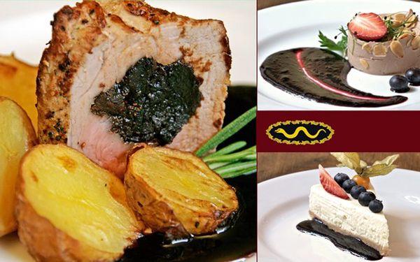 Luxusní gurmánský zážitek v restauraci Zlatý had