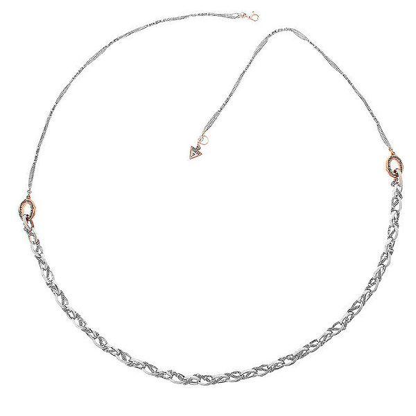 Dámský ocelový náhrdelník Guess