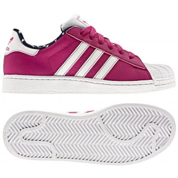 Dětská lifestylová obuv - Adidas SUPERSTAR 2 J