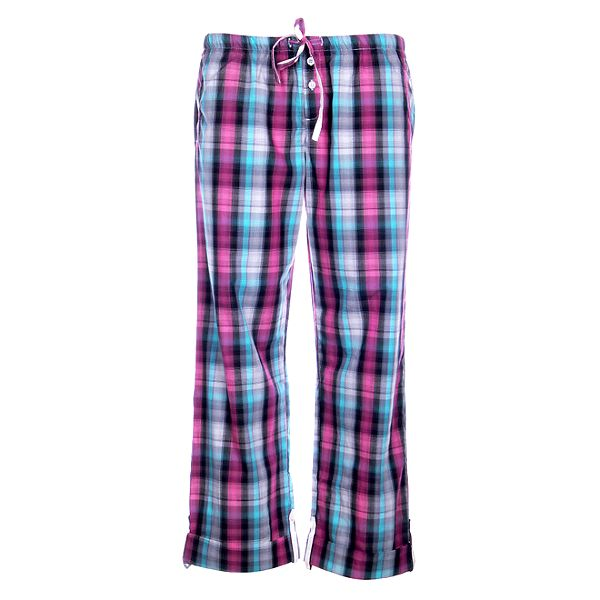 Dámské pyžamové kalhoty DKNY s kostkovaným vzorem