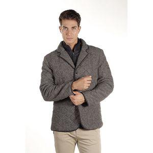 Pánský šedý prošívaný kabátek Armata di Mare