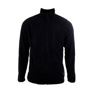 Pánská černá fleecová mikina Authority