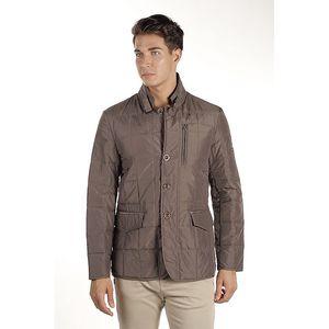 Pánský hnědý prošívaný kabátek Armata di Mare