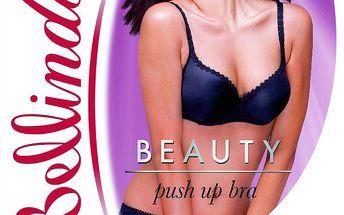 Podprsenka Bellinda push-up - temně fialová pro Vaše sebevědomí!