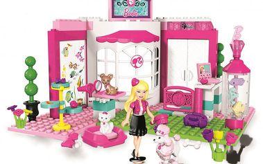 MEGABLOKS Micro - Barbie a obchod pro její zvířecí mazlíčky