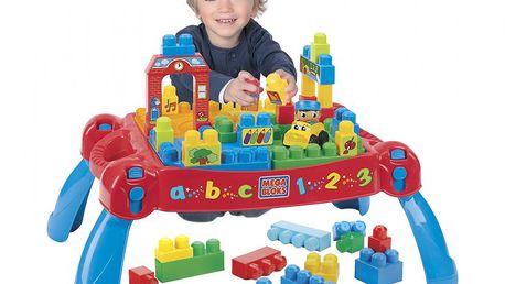 MEGABLOKS Skládací hrací stůl s kostkami - skvělá stavebnice nejen pro předškoláky