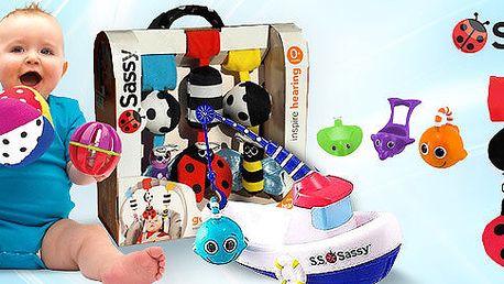 Vývojové hračky Sassy