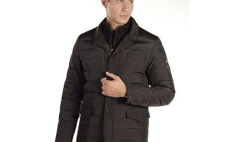 Pánský černý prošívaný kabátek Armata di Mare
