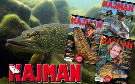 Roční předplatné časopisu Kajman za 499 Kč včetně poštovného!