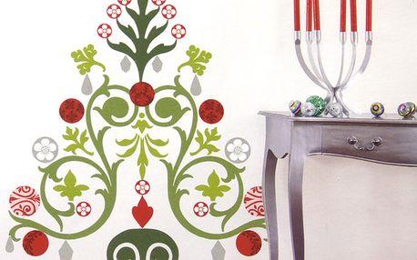 Samolepka Vánoční stromek