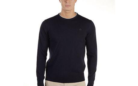 Pánský tmavě modrý svetr z merino vlny Armata di Mare