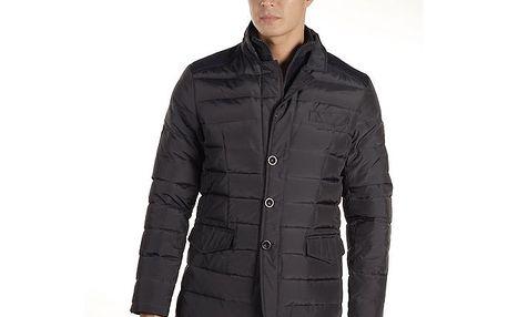 Pánský tmavě modrý prošívaný kabátek Armata di Mare