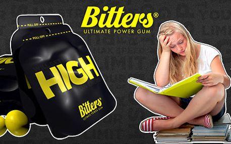 5 balíčků energetických žvýkaček Bitters