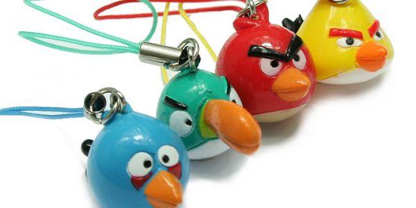 Angry Birds přívěšky - dejte si svého oblíbeného ptáčka i na mobil!